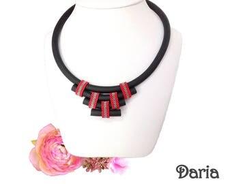 Necklace edgy 50s Miyuki Daria