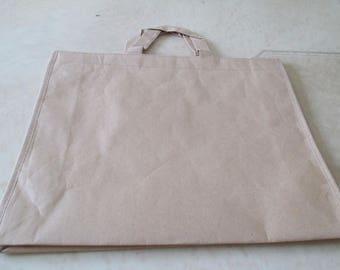 beige kraft paper bag