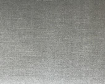 A5 thick paper deco textured effect woven Pearl scrapbooking - grey