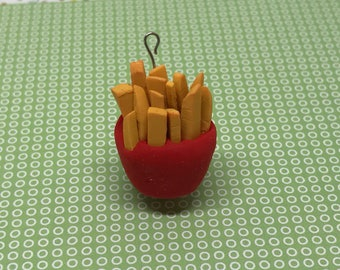 French Fry Charm