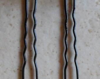 Olivine swarovski crystal, creating wedding hair pins.