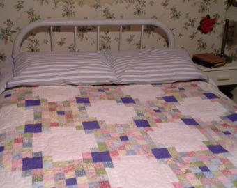 New vintage-looking quilt,