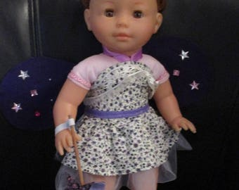 garment 36 cm Ma Corolla purple wings and wand doll outfit fairy
