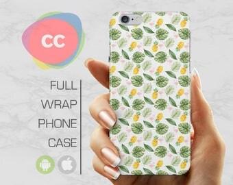 Pineapples Phone Case - iPhone 7 Case - iPhone 8 Case - iPhone 6 Case - iPhone 5 Case - iPhone X Case - Samsung S8 Case - PC-303