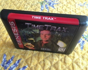 Time TRAX NTSC-U Genesis *Repro* Unrelased Game
