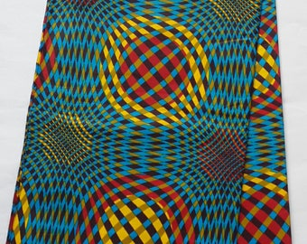 African fabric, blue print fabric, African clothing, African print fabric