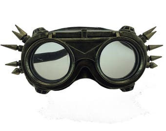 Steampunk Mad Scientist Goggles Masquerade Halloween Party Goggle Mask