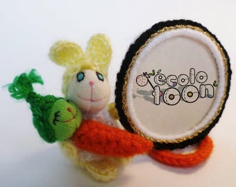ecolotoon Bunny and carrot