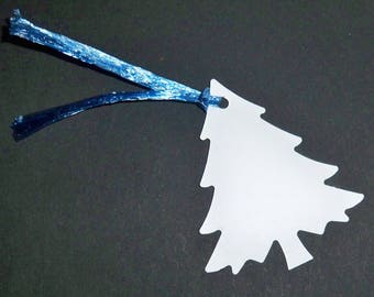 SCRAPBOOKING tags labels Christmas tree set