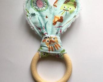 Baby Rattle teething ring