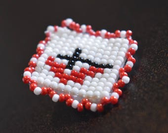 Methodist beaded pin