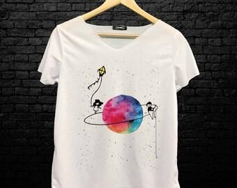 Kite Planet T Shirt
