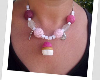 Very gourmet necklace for girls!