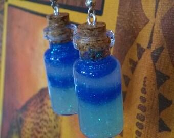 Large bottle Earrings