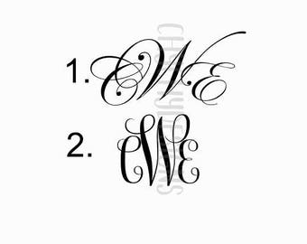 Monogram (customize me!)