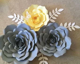 Paper Flowers - Customize the colors