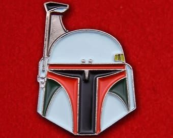 Star Wars Boba Fett Enamel Lapel Pin Badge