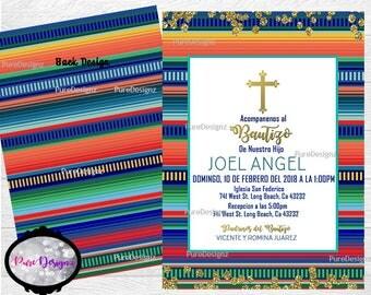 Mexican Baptism Invitations, Mexico Bautizo Invitations, Bautizo Invitations, Invitaciones Bautizo,Invitaciones Bautizo Mexicano, Virgencita