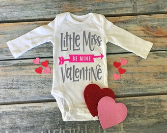 Little Miss Valentine Shirt