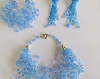 Ornament. Air Kit, summer, blue