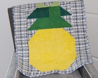 Pineapple Cotton Baby Quilt