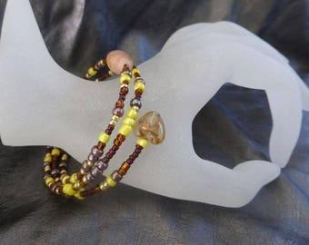 The colors of autumn bracelet