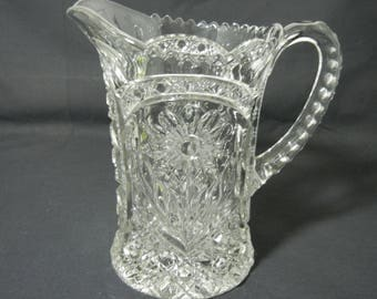 Imperial Glass # 474 Crystal Pitcher