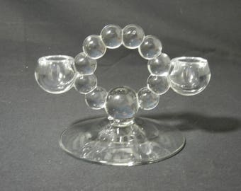 Imperial Candlewick Twin Candleholder # 400/100