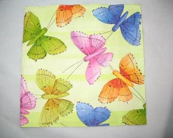 NAPKIN BUTTERFLY DECORATION