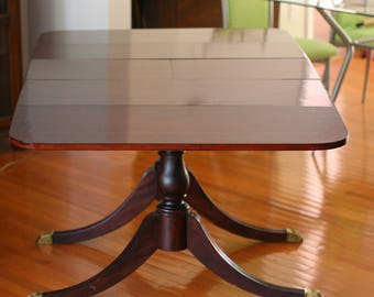1920s Dining Table Duncan Phyfe Style Part 46