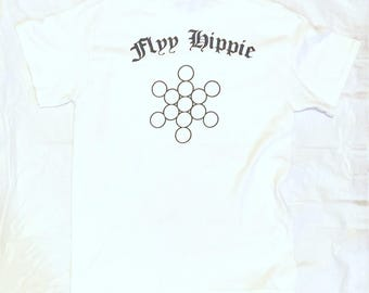 Flyy hippie fruit of life pocket t