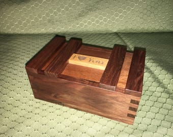 Wooden Engraved Jewelry Box