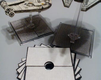 Large Ship Grips (2) for X-Wing Miniatures