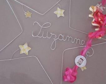Decorative star name of aluminum wire