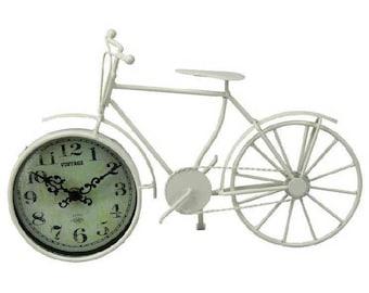 Bike Clock - Cream