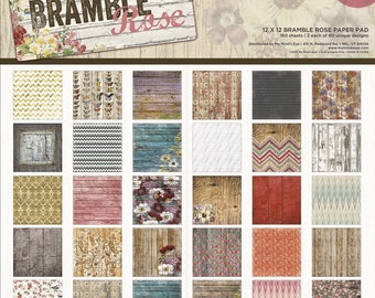 Block of 180 sheets Bramble rose
