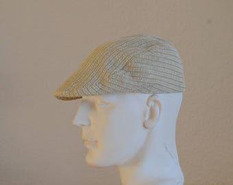 vintage ecru velvet size 57 Cap