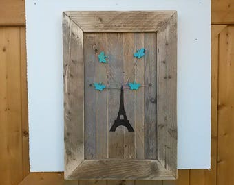 Dumb Memo think table recycled wooden EIFFEL Tower