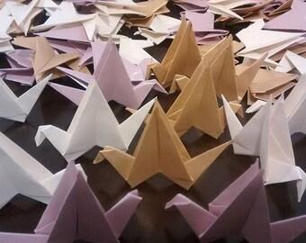 Origami crane strings - 100 cranes