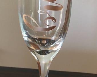Bride Champagne Flute