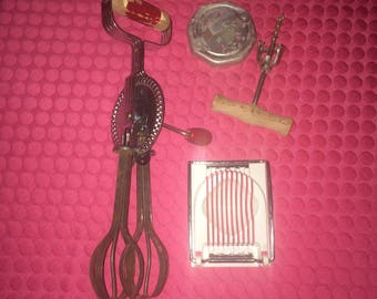 Kitchen Utensils Vintage Hand Mixer