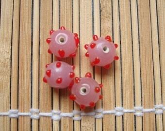 4 Indian craft beads