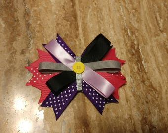 Girls clip bow