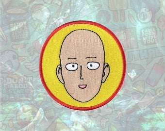 ONE PUNCH-MAN  Patch Cartoon Face Patch Iron on Patch Sew On Patches