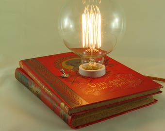 "Book lamp ""Uhland: poems and ballads"""