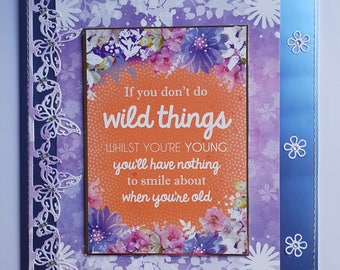 Beautiful Handcrafted Greeting Card