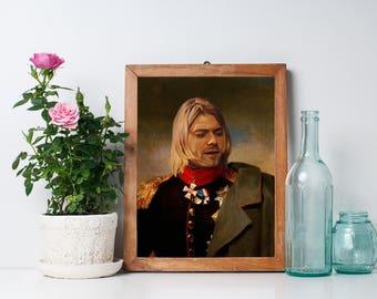 Kurt Cobain Limited Artwork