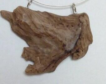 Drift wood pendant