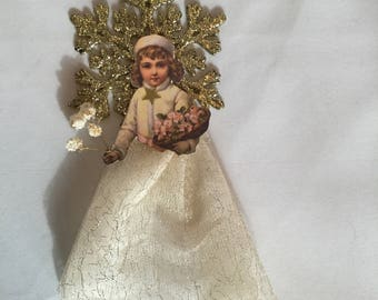 3 Christmas Angel ornaments