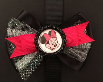 Red and Black Minnie Mouse